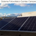 Sistema fotovoltaico 0.75 KWp Quintas Campestre