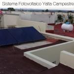 Sistema fotovoltaico 0.75 KWp Yalta campestre