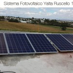 Sistema fotovoltaico 1.2 KWp  Ruscello